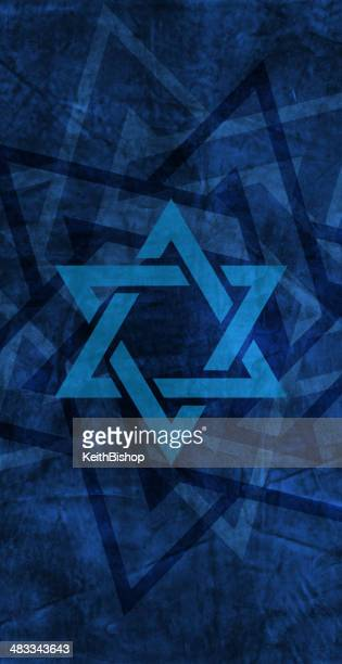Star of David - Judaism Jewish Faith, Religion Background