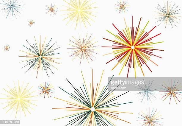 star pattern - shiny stock illustrations
