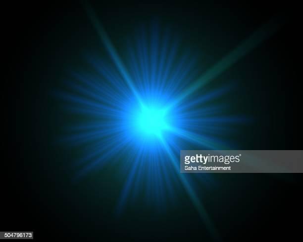 starburst light background