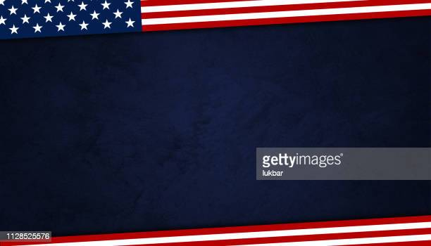 usa background with american flag elements