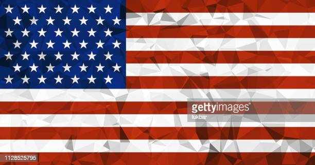 usa background with american flag low