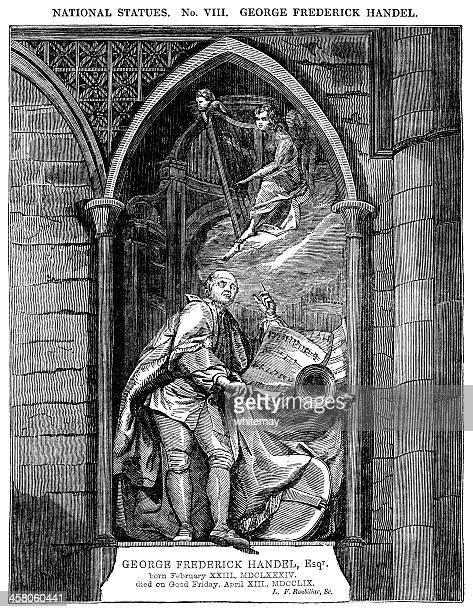 像のジョージ・フレデリック 225 (ビクトリア様式の彫り込み) - ジョージ ヘンデル点のイラスト素材/クリップアート素材/マンガ素材/アイコン素材