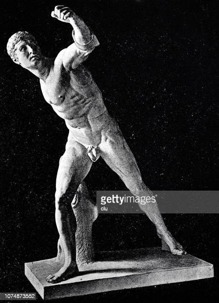 Statue of the Borghese Fencer