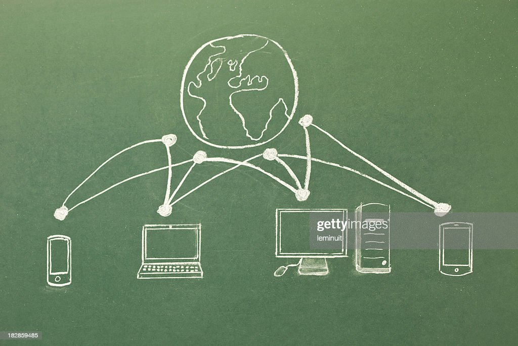 Stay connected! : stock illustration
