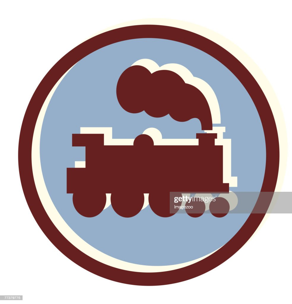 steam train : Illustration