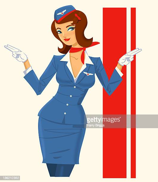 Stewardess from 1960s