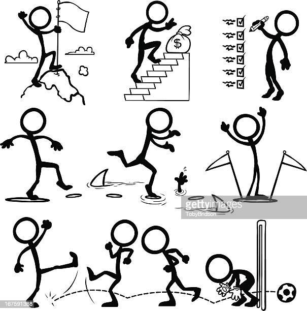 Stick Figure People Goal