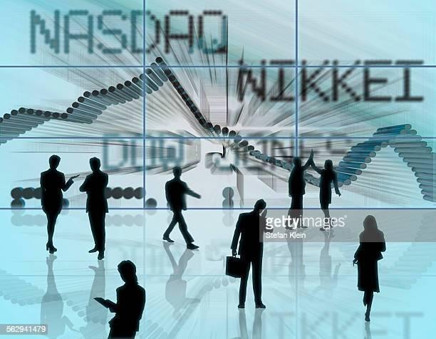 stock prices, illustration - nasdaq stock illustrations, clip art, cartoons, & icons
