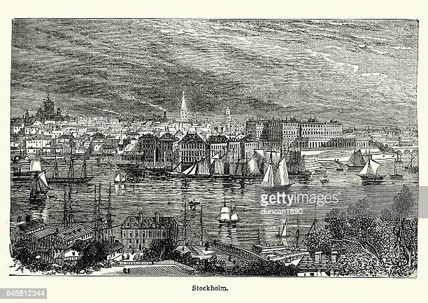 Stockholm, Sweden in the 19th Century