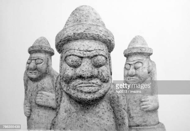 stone grandpa pencil drawing - basalt stock illustrations, clip art, cartoons, & icons