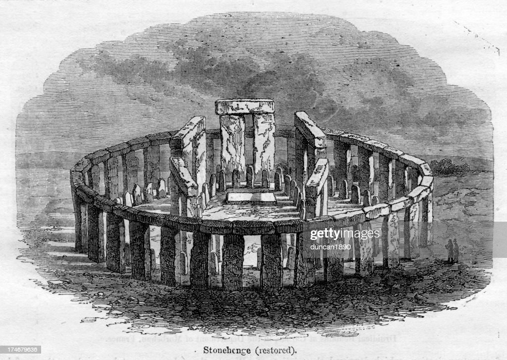 Stonehenge : stock illustration