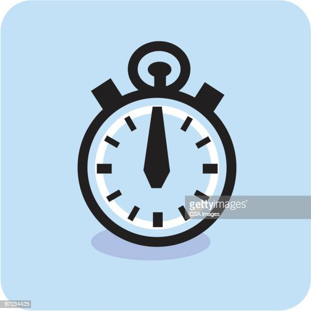stopwatch - image stock illustrations