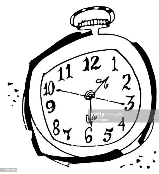 stopwatch - time stock illustrations