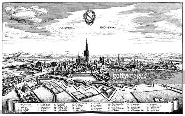 Strasbourg, France, in the 17th century