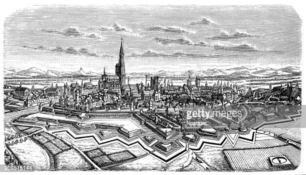 Strasbourg from 17th century