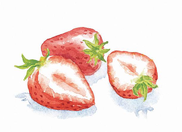 strawberries - イチゴ点のイラスト素材/クリップアート素材/マンガ素材/アイコン素材