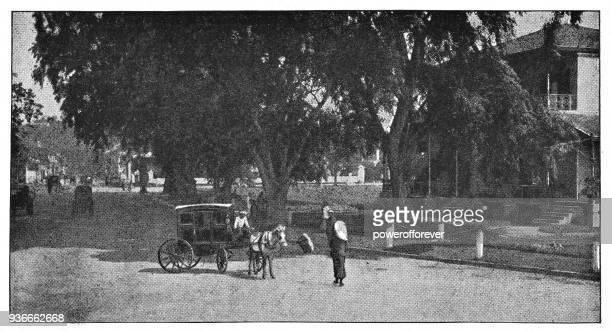 Street in Delhi, India - British Era