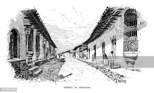 Street in Granada Nicaragua