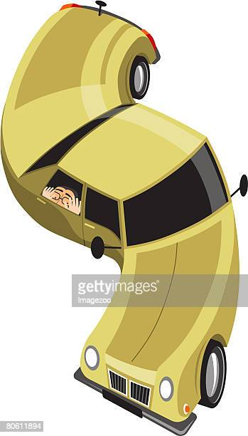 stretch limo - stomach pain stock illustrations, clip art, cartoons, & icons