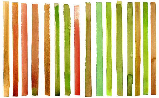 Stripy watercolour