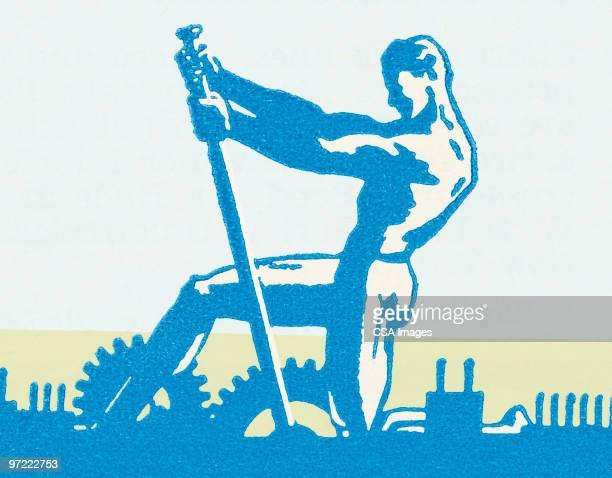 strongman - 男らしさ点のイラスト素材/クリップアート素材/マンガ素材/アイコン素材