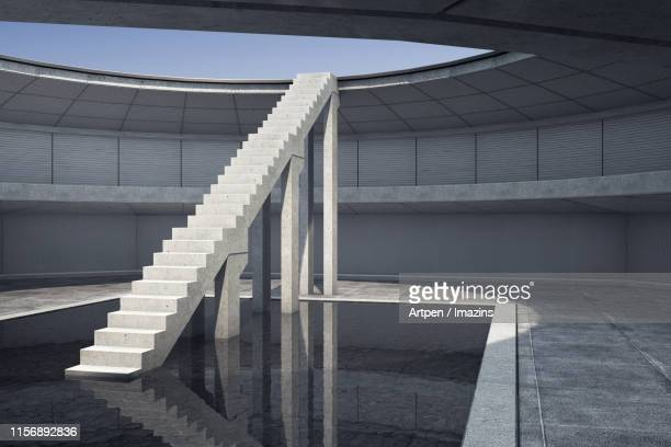 structural interior design - 3d design - architectural feature stock illustrations, clip art, cartoons, & icons