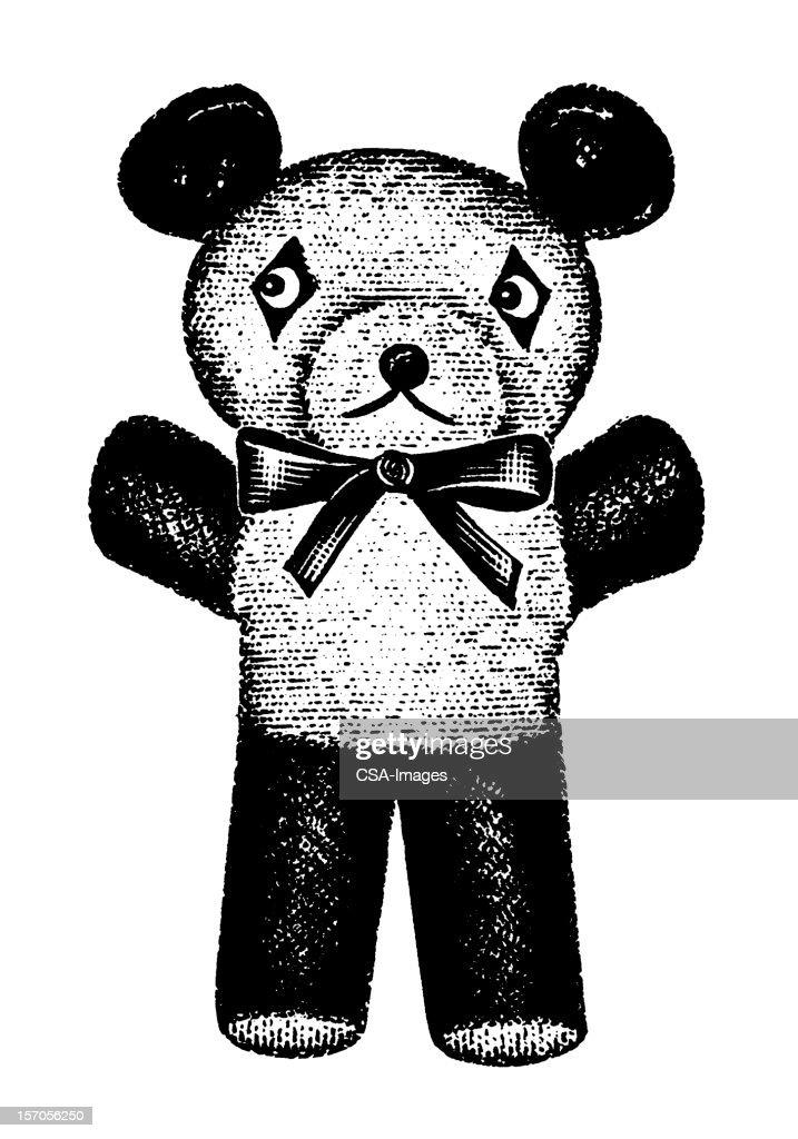 Stuffed Animal bear : stock illustration