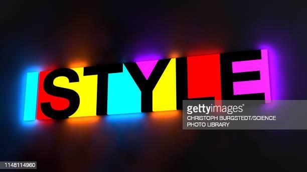 style, conceptual illustration - shiny stock illustrations