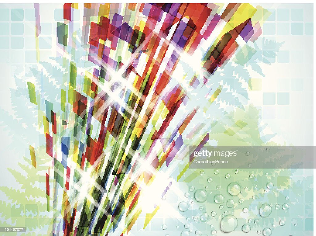 Stylish Colorful Abstract Background