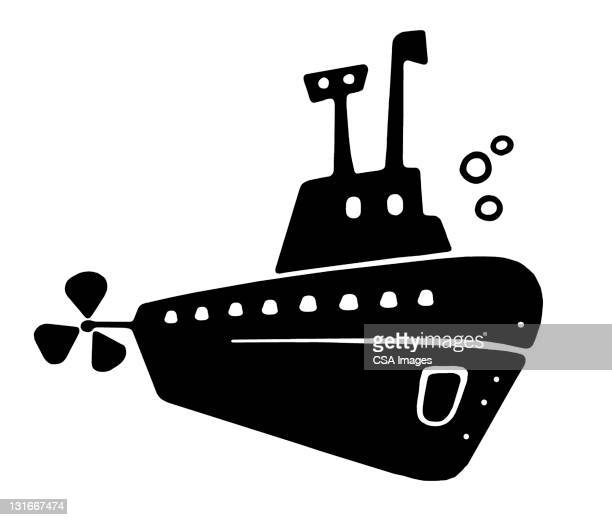 submarine - military stock illustrations