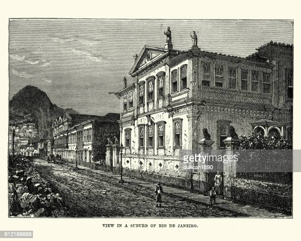 Subnurb of Rio de Janeiro, Brazil, 19th Century