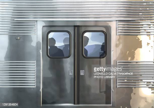 subway car exterior, illustration - traffic stock illustrations