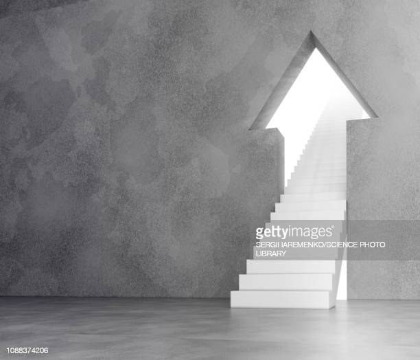 success, conceptual illustration - opportunity stock illustrations