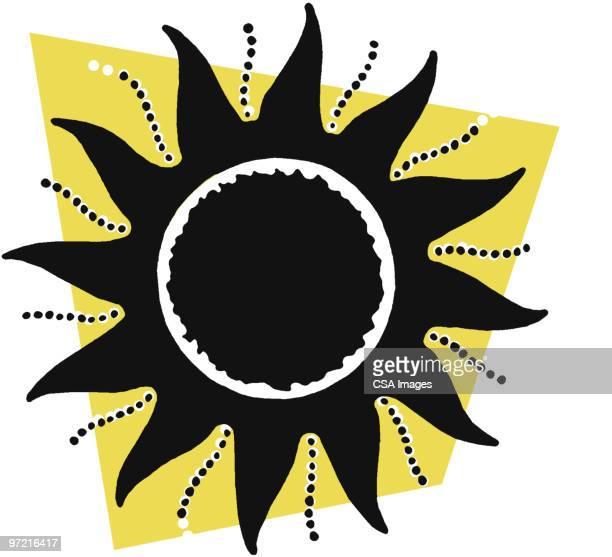 sun - day stock illustrations