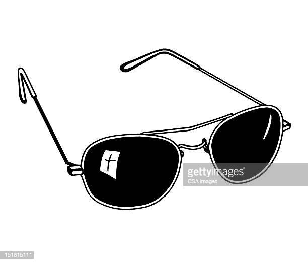 ilustraciones, imágenes clip art, dibujos animados e iconos de stock de sunglasses - gafas de sol