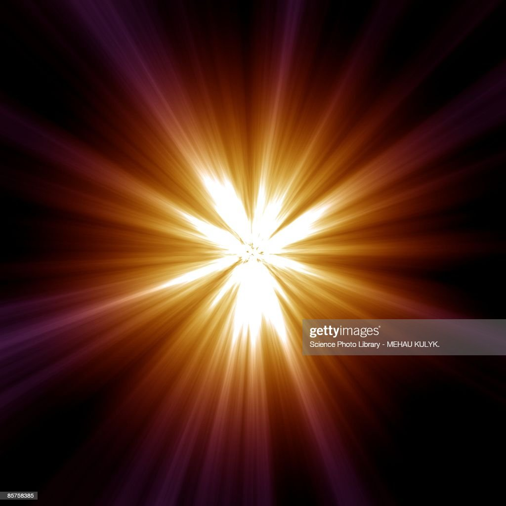Supernova explosion : stock illustration