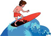 Surf on the waves