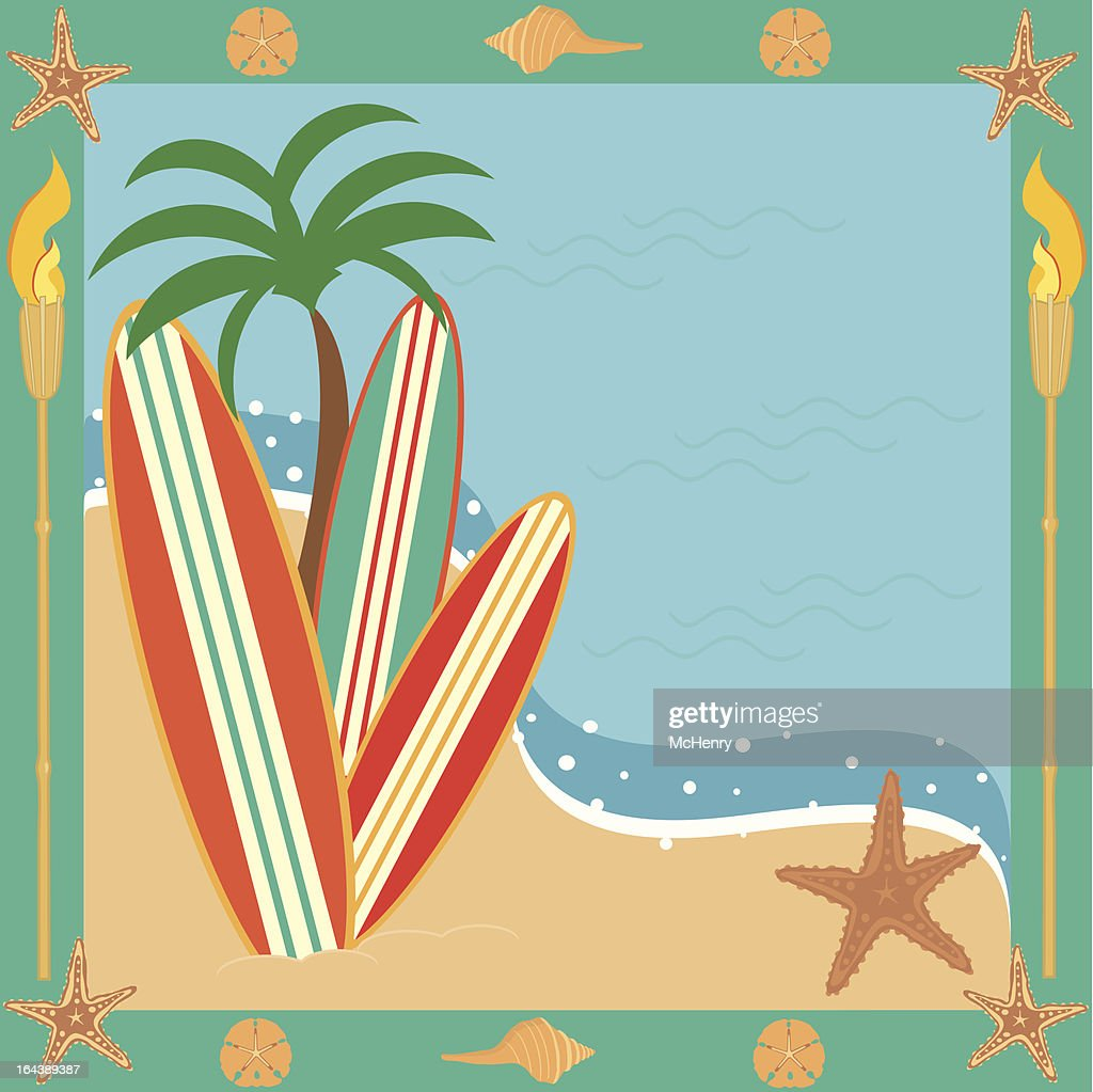 Surf or Beach Party Invitation