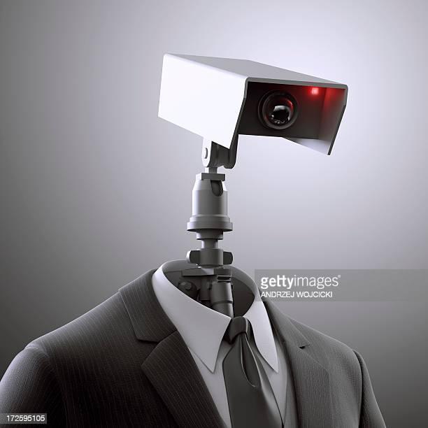 Surveillance, conceptual artwork
