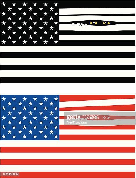 surveillance - big brother orwellian concept stock illustrations, clip art, cartoons, & icons