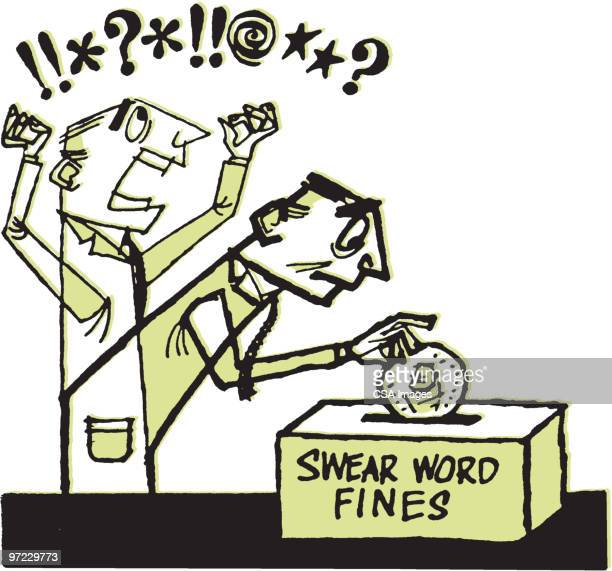 Swear Word Stock Illustrations And Cartoons