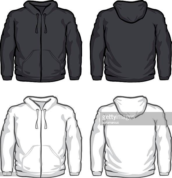 sweater - hooded top stock illustrations