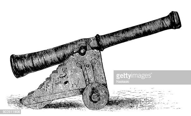 Swedish Cannon From the time of the Thirty Years War