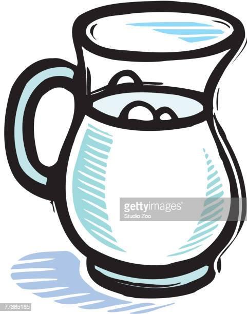 szo0616 - jug stock illustrations, clip art, cartoons, & icons