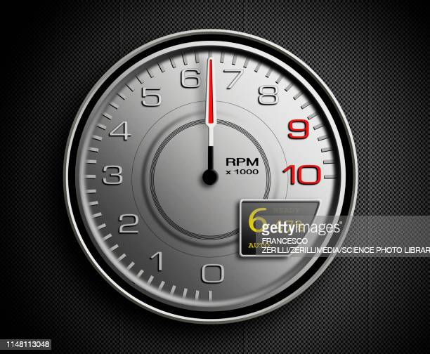 tachometer, illustration - instrument of measurement stock illustrations