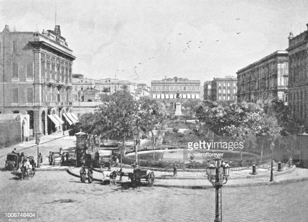 Tahrir Square in Alexandria, Egypt - Ottoman Empire