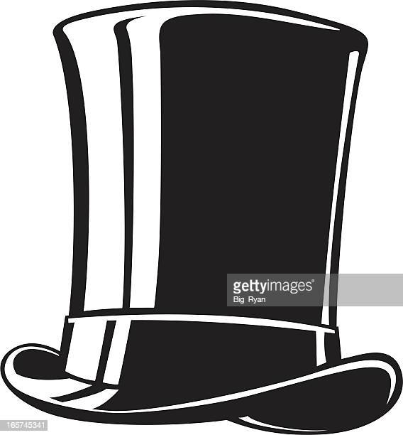top hat vector art and graphics | getty images