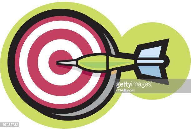 target - sports target stock illustrations