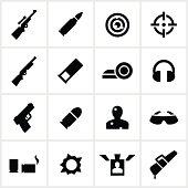 Target Shooting Icons
