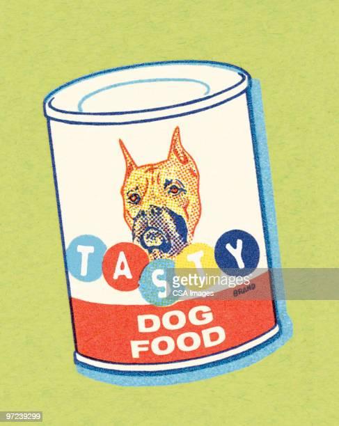 tasty dog food - dog food stock illustrations, clip art, cartoons, & icons